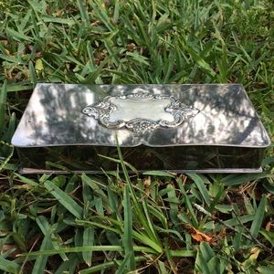 Vintage Wallace Silverplate Box | Wallace Baroque